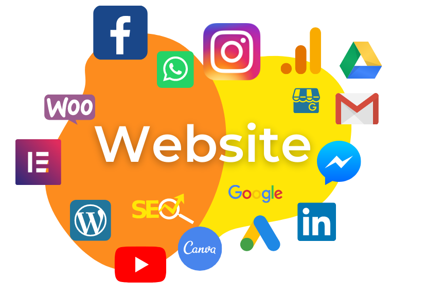 Web Design & Social Media Icons